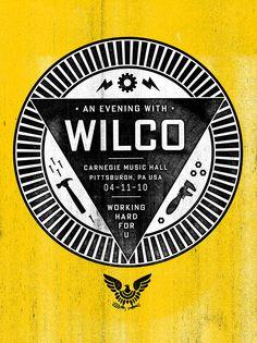 Wilco by Mikey Burton