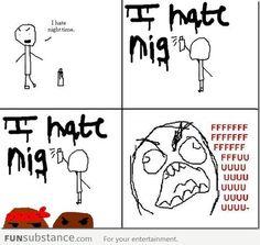 I hate nig... FFFFFFUUUUUU-