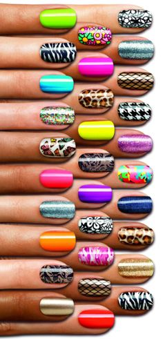 Sally Hansen Salon Effects Real Nail Polish Strips collection