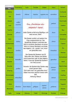 Possessivartikel (Possessive Articles) | german ...