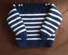 Je débute au tricot les côtes ou tricoter un pull bébé simplissime -
