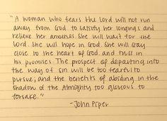 Wow. John Piper