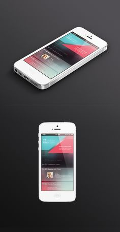 Today's Schedule app UI on Behance