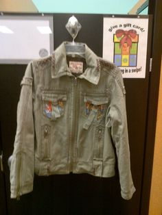 True Religion jacket, size M, $30.