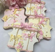 Carousel inspired cookies by Little-Fancies