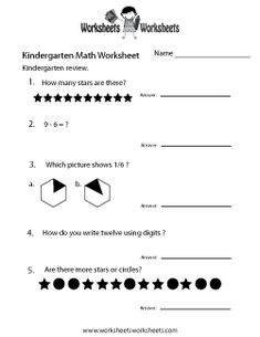 math worksheet : kindergarten grammar review worksheet printable  k grade  : Kindergarten Review Worksheets
