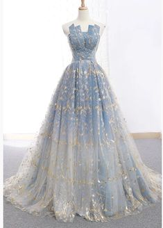 Blue and Gold Lace Ball Gown Prom Dresses, Sweet 16 Princess Quinceanera Dress O. - - Blue and Gold Lace Ball Gown Prom Dresses, Sweet 16 Princess Quinceanera Dress – Okdresses Source by laudidgg Gold Evening Dresses, A Line Prom Dresses, Long Wedding Dresses, Quinceanera Dresses, Evening Gowns, Dress Prom, Summer Dresses, Wedding Dressses, Outfit Summer