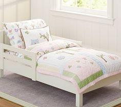 Hayley Toddler Quilted Bedding #pbkids
