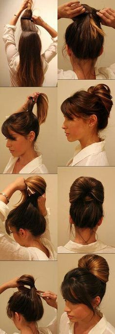 Fast updo