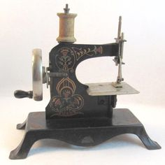 German Child's Sewing Machine
