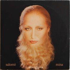 The Styrous® Viewfinder: vinyl LPs Mina - Salomé Cool Album Covers, Music Covers, Lps, Best Albums, Walk On, Pop Music, Singer, Selfie, Mini