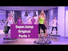 Jill Cooper - SuperJump Brucia Grassi Esericizi Parte 1 - - YouTube Trampoline Workout, Workout Videos, Exercise Videos, Rebounding, Cellulite, Hiit, Excercise, Fat Burning, Fitness Inspiration