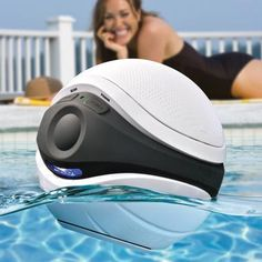 wireless floating speaker for the pool