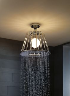 Axor Lamp Shower designed by Nendo @Axor Design
