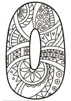 natur animals Number 0 Zentangle coloring page from Zentangle Numbers category. Select from 27556 printable crafts of cartoons, nature, animals, Bible and many more. Cool Coloring Pages, Free Printable Coloring Pages, Coloring Pages For Kids, Coloring Sheets, Coloring Books, Printable Numbers, Printable Crafts, Printables, Alphabet Coloring