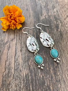Excited to share this item from my #etsy shop: Bohemian Earrings #dangleearrings #blueearrings #hippieearrings #hippiejewelry #festivalearrings #festivaljewelry #bohemiansearrings #bohoearrings #handmadeearrings Blue Earrings, Dangle Earrings, Elephant Bracelet, Hand Bracelet, Hippie Jewelry, Hamsa Hand, Silver Beads, Earrings Handmade, Gifts For Her