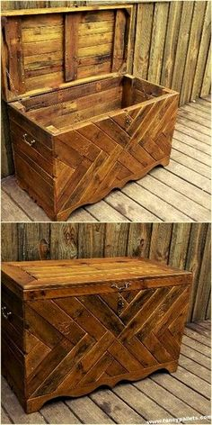 86 Most Pupulars Pallet Wood Projects Diy Cheap and Easy Diy Pallet Wood Projects Pallet Projects Pallet Boxes, Pallet Crates, Wooden Pallets, Pallet Wood, Pallet Patio, Outdoor Pallet, Log Wood Projects, Diy Pallet Projects, Woodworking Projects