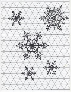 Creator's Joy: How to Draw Intricate Snowflakes