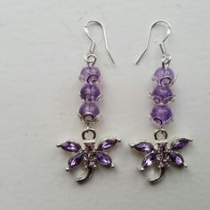 Made by me Beadwork, Drop Earrings, Jewelry, Fashion, Jewellery Making, Moda, Pearl Embroidery, Jewerly, Drop Earring