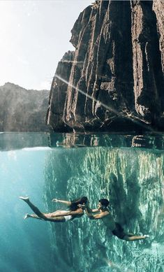 Crystal clear waters 😍 Coron, Palawan 🐠 Who would you take to this underwater world? Photo by The post Crystal clear waters Coron, Palawan Wh appeared first on . Coron Palawan, Beautiful Places To Travel, Wonderful Places, Beautiful Scenery, World Photo, Crystal Clear Water, Jolie Photo, Vacation Spots, Land Scape