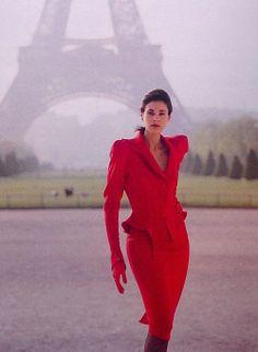 Thierry Mugler, f/w 1988