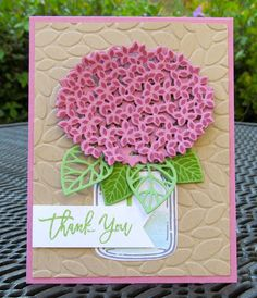 Stampin' Up! Anniversary Thoughtful Thank You (Krystal's Cards and More)
