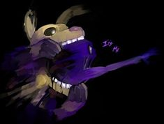FNAF horror game fan art: Purple Guy in Springtrap Wow. This art is amazing. The purple guy when he goes into the springtrap and gets stuck and dies Five Nights At Freddy's, Freddy 's, Fnaf Sl, William Afton, Fnaf Sister Location, Freddy Fazbear, Fnaf Drawings, Pretty Art, Game Art