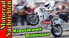 Klassikwelt Bodensee 2016   neue Kawasaki KX250F   Trauer in der MotoGP ...