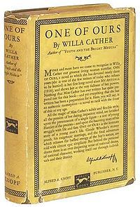 Made me fall in love with Willa Cather and hate war.