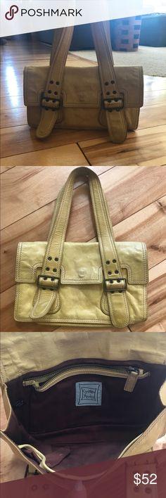 Cynthia Rowley Purse Yellow Leather Cynthia Rowley handbag.  Still in good condition.  Measures 6.5 x 11 inches Cynthia Rowley Bags
