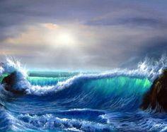 Azul do mar, céu azul...