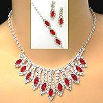 For your customers that need rhinestone jewelry that delivers color, these wholesale rhinestone jewelry sets include a necklace, earrings, and bracelet with color highlights.  The rhinestone necklace has a fringe of drops that graduate in length as they approach the center.  Each drop terminates with a marquise colored stone.  Exquisite and affordable, these wholesale rhinestone sets will satisfy the look your customers want.   http://www.awnol.com/store/Rhinestone-Jewelry/Rhinestone-Sets