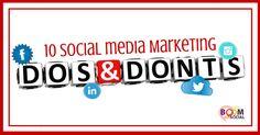 10-social-media-marketing-dos-and-donts  #BeUnstoppable #mediaandcity #brandit #UnstoppableMomma #Entrepreneur @bonniebruderer @mediaandthecity @rhondarswan @askbonbon