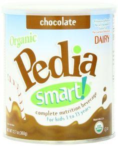 PediaSmart Organic DAIRY Chocolate Complete Nutrition Beverage Powder, 12.7 Ounce: Amazon.com: Grocery & Gourmet Food