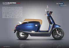 Elipse Electric Scooter (Project+Proto for Sale) by Pablo Gonzalez de Chaves at Coroflot.com