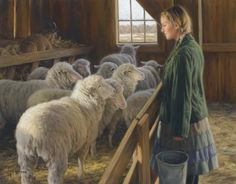ROBERT DUNCAN He is definitely one of my favorite artists as so many of his paintings depict my childhood, growing up on a farm.