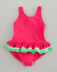 9d388066a9a6d Watermelon Swim Suit for Girls Baby Swimwear, Baby Swimsuit, Baby Bikini,  Baby Beach
