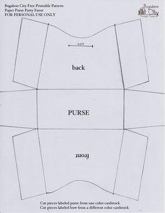 Free Leather Purse Pattern Printables Bag Patterns