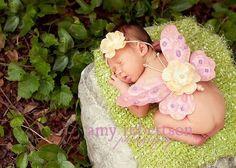 Newborn pics, outfit # 2 pins-i-like