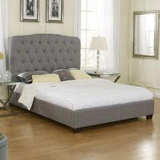 Alexis Upholstered Platform Bed