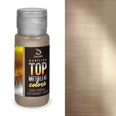 Tinta Top Metallic Colors 241 Ouro Ducado