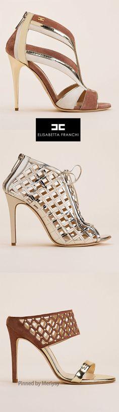 Elisabetta Franchi.SS2015. | @ shoes ( booties )