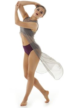 Basic cami bra with a deep back, perfect for wearing under any dance costume!