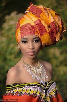 Today its all about the African turban/head tie. Share your styles with us by sending your pictures to coll. African Inspired Fashion, African Fashion, Nigerian Fashion, Ghanaian Fashion, African Style, Ankara Fashion, African Attire, African Dress, African Beauty