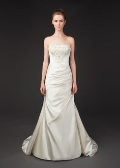 Sophisticated Winnie Couture Wedding Dresses Fall 2014 Diamond Label Collection. To see more: http://www.modwedding.com/2014/01/20/winnie-couture-wedding-dresses-fall-2014-diamond-label-collection/ #wedding #weddings #fashion