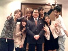 Shinkenger cast. I love them <3