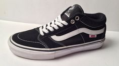 Mens VANS Black Trujillo Casual Pro Skate Shoes 7.5  VANS  Skateboarding.  DISCOUNT DEPOT WORLD 0f987298e