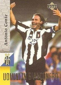 1998 Upper Deck Juventus F C #54 Antonio Conte Front