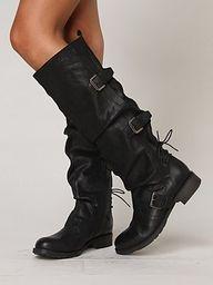 Rider black boots