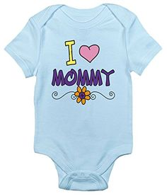I Love Mommy One-piece Baby Bodysuit Cute Baby Clothes fo... https://www.amazon.com/dp/B071P4XHMT/ref=cm_sw_r_pi_dp_x_O4hizb50FJQFE